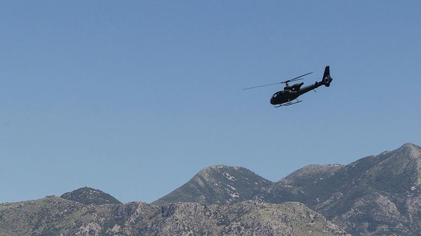 СМИ: В Республике Сербской разбился вертолёт
