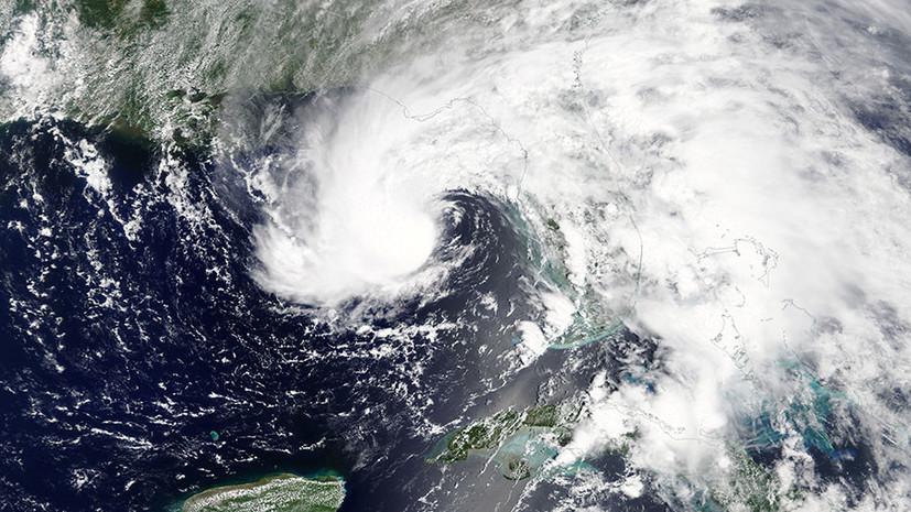 В ряде районов Флориды объявлена эвакуация из-за урагана «Альберто»