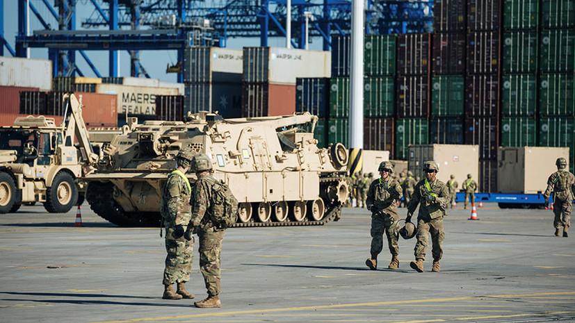 Груз скрытого назначения: США перебрасывают в Польшу военную технику