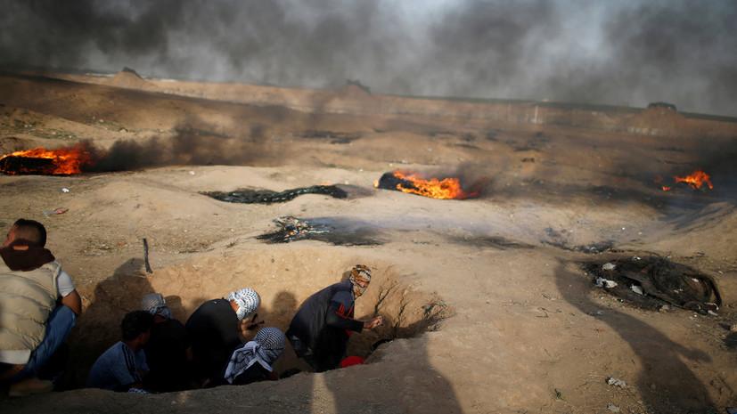 Израильские военные засекли 25 выпущенных из сектора Газа миномётных снарядов