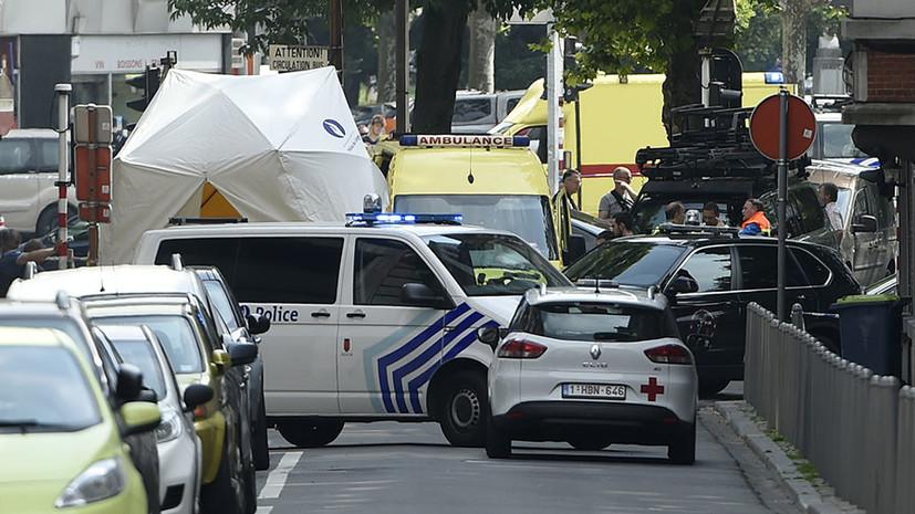 Полиция рассматривает версию теракта после стрельбы в Льеже
