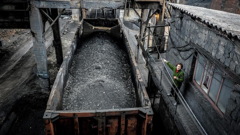 На Украине на четверть увеличилось потребление угля