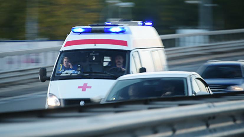 В Подмосковье грузовик врезался в рейсовый автобус