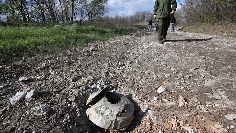 В ЛНР заявили о подрыве в Донбассе бронемашины с украинскими военными