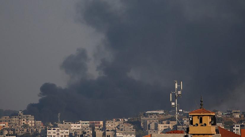 Нетаньяху заявил о нанесении по сектору Газа самого мощного удара за последние годы