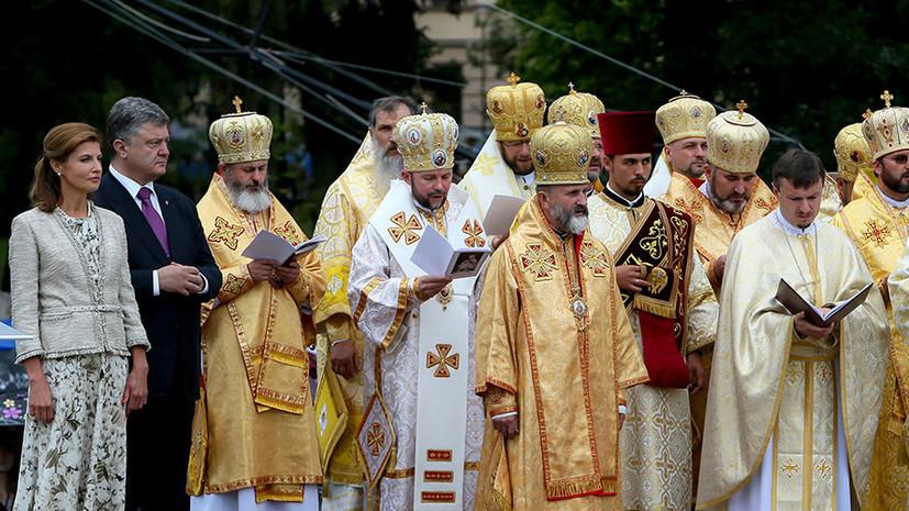 Порошенко считает, что Украинская православная церковь получит автокефалию