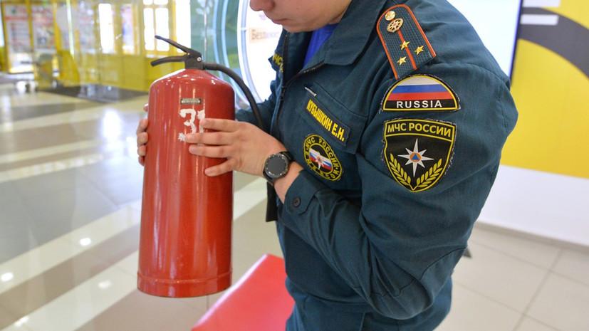 Путин поручил усилить контроль за обеспечением пожарной безопасности в общественных местах