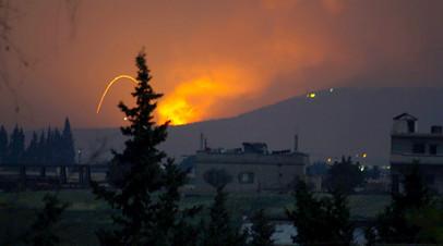 Взрывы в окрестностях сирийского города Хама, 29 апреля 2018 года