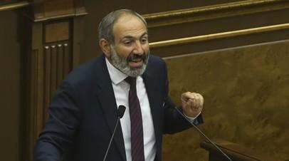 «Он нас не убедил»: парламент Армении отклонил кандидатуру лидера оппозиции Пашиняна на пост премьера