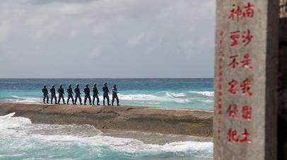 Солдаты НОАК на островах Спратли