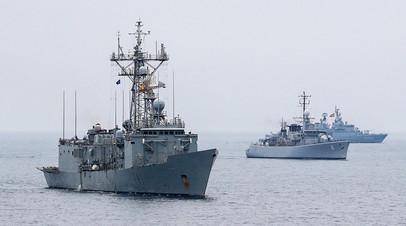Корабли 2-й постоянной военно-морской группы альянса