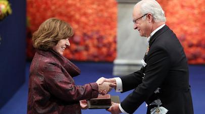 Алексиевич прокомментировала решение не вручать Нобелевскую премию по литературе в 2018 году