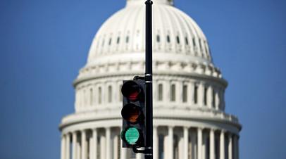 Здание Капитолия в Вашингтоне