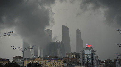 МЧС предупредило о грозе и сильном ветре в ближайшие часы в Московской области