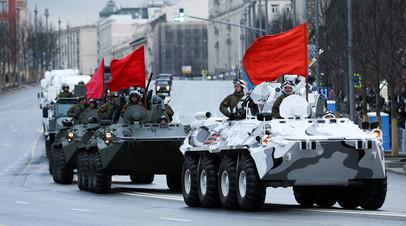 Генеральная репетиция парада Победы прошла в Москве
