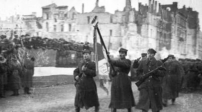 Военнослужащие Польского войска