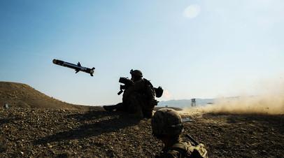 Американский противотанковый ракетный комплекс Javelin