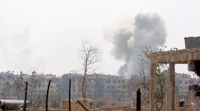 Окрестности Дамаска, Сирия. Архивное фото