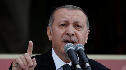 Эрдоган заявил, что США проиграют из-за выхода из ядерной сделки с Ираном