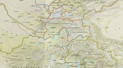 Землетрясение магнитудой 6,2 произошло на севере Афганистана