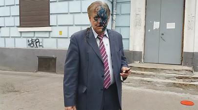 Константин Воробьёв после нападения