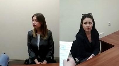 Валентина Соловьёва и Ольга Юрьева