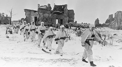 Советские разведчики на Пулковских высотах во время Великой Отечественной войны 1941—1945 гг.