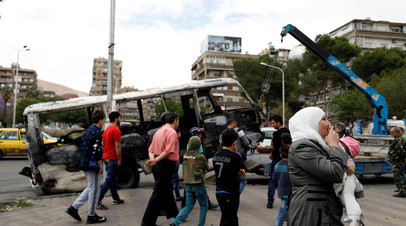 Из лагеря «Ярмук» в пригороде Дамаска выведены более трёх тысяч боевиков