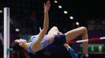 Российская прыгунья в высоту Ласицкене победила на этапе Бриллиантовой лиги в Шанхае