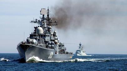 Флагман Балтийского флота — эсминец «Настойчивый»