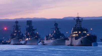 Парад кораблей Черноморского флота