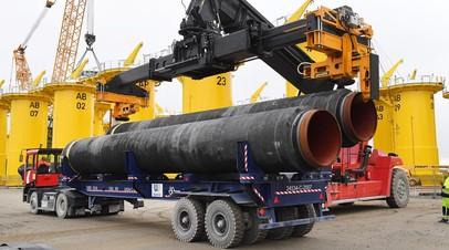 Трубы для трубопровода «Северный поток — 2»