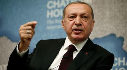 Эрдоган заявил, что США утратили роль посредника на Ближнем Востоке из-за переноса посольства