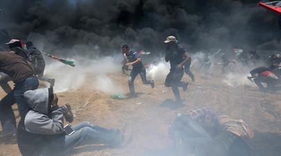 Число погибших при столкновениях в секторе Газа возросло до 25