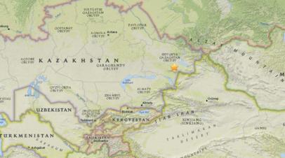 В Казахстане произошло землетрясение магнитудой 5,1