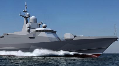 На Ладожском озере проходят испытания малого ракетного корабля «Ураган»