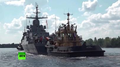 На Ладожском озере прошёл первый этап ходовых испытаний ракетного корабля «Ураган»