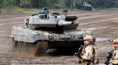 Немецкий танк Leopard 2 A7