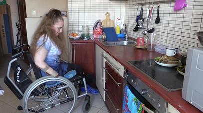 Проходящая лечение в РФ после ранений в Сирии украинка два года не может увидеть семью