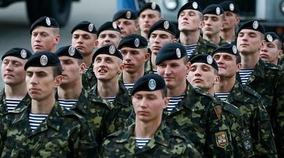 Украинские пехотинцы