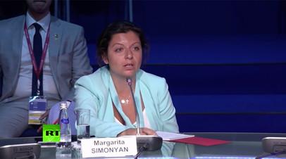 Симоньян рассказала об усилении борьбы с восстановлением информационного равенства в мире