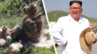 Демонтаж ядерного полигона Пхунгери, Ким Чен Ын