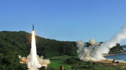 Ракетные испытания в КНДР, июль 2017 года