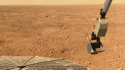 Поверхность Марса © pixabay.com