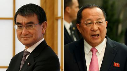 СМИ: Главы МИД Японии и КНДР могут встретиться в августе