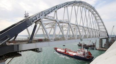 Крымский мост через Керченский пролив © Pavel Rebrov
