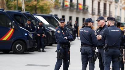 Испанская полиция © Rafael Marchante