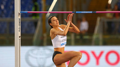 Ласицкене выиграла этап «Бриллиантовой лиги» в Риме, одержав победу в 40-м турнире подряд