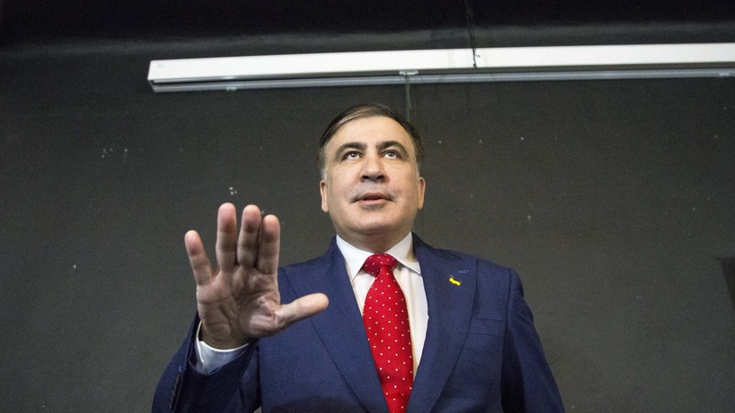 Суд в Киеве признал законным выдворение Саакашвили с Украины
