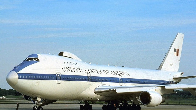 Пентагон намерен модернизировать «самолёт Судного дня»